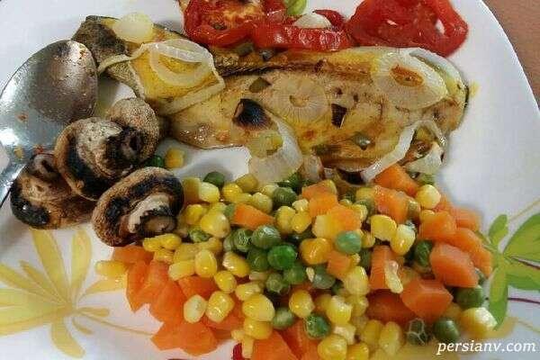 غذای رژیمی ساده