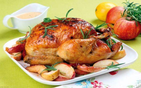 طرز مرغ شکم پر