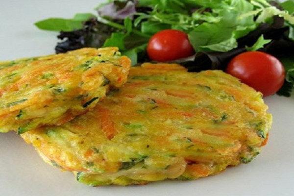 پنکیک سبزیجات