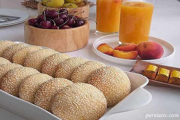 شیرینی کنجدی مخصوص عید فطر