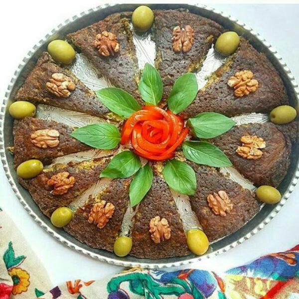 طرز تهیه کوکو بادمجان ویژه