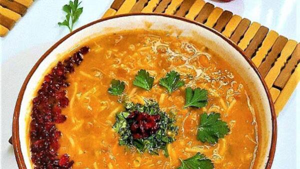 روش تهیه سوپ رشته
