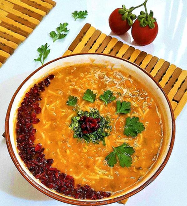 سوپ رشته ای
