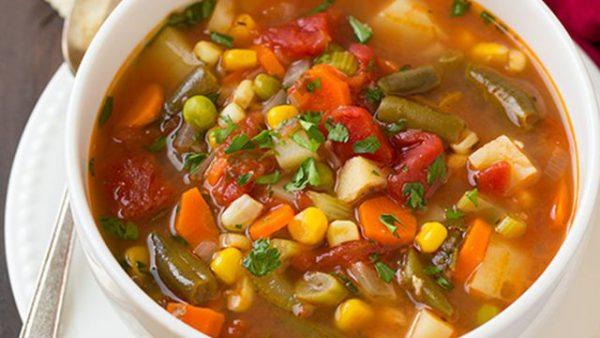 طرز تهیه سوپ سرماخوردگی