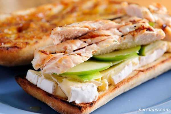 چهار ساندویچ برای پیکنیک