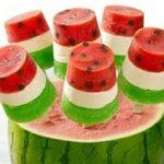 روش تهیه ژله چوبی هندوانه برای شب یلدا