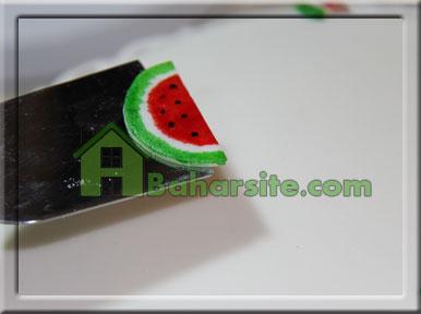 کیک هندوانه ای برای شب یلدا