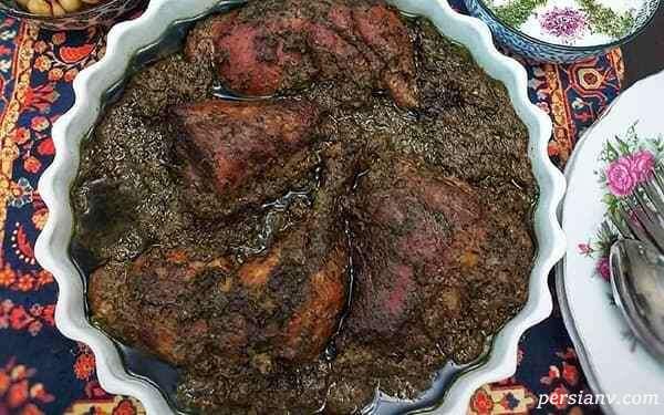 مرغ ترش ( یک غذای خوشمزه شمالی )