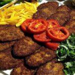 کتلت گوشت ( پخت سریع و آسان )