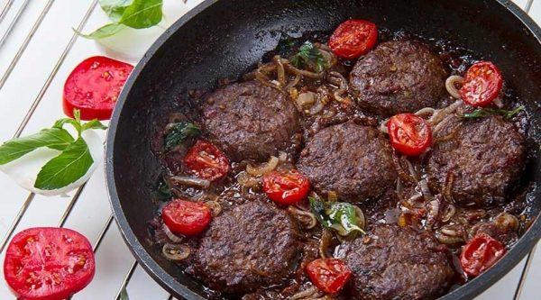 طرز تهیه شامی کباب سبزیجات