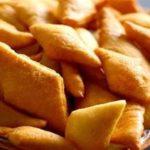 پخت نان «بیشمه» در منزل ( تا حد زیادی شبیه بامیه است)