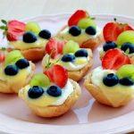طرز تهیه تارت میوه ای برای نوروز / تصاویر مرحله به مرحله