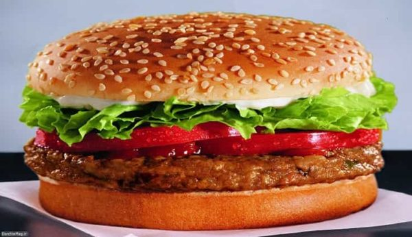 طرز تهیه همبرگر خانگی ! ( فوری و خوشمزه )