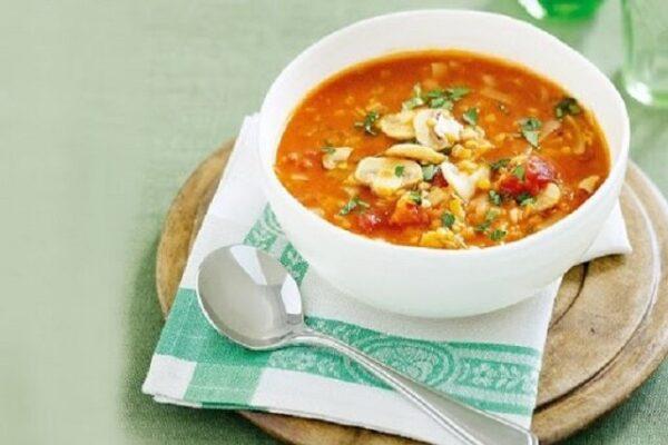 آشنایی با روش تهیه سوپ قرمز قارچ