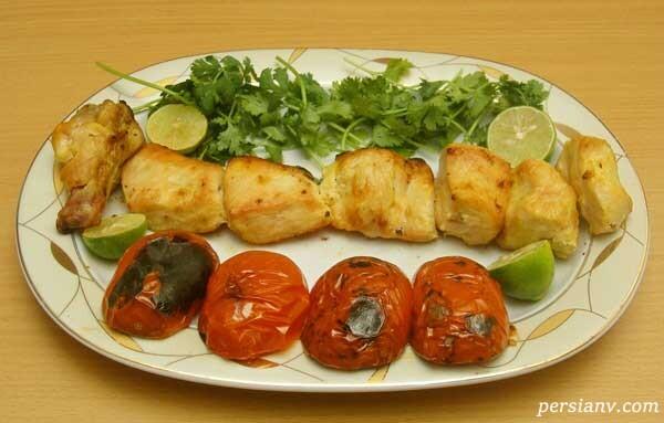 غذای ایرانی بدون روغن