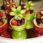 تزیین میوه تولد کودک
