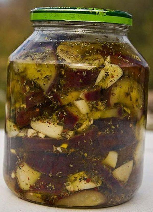 تهیه ترشی بادمجان کبابی ,ترشی خوش عطر و طعم