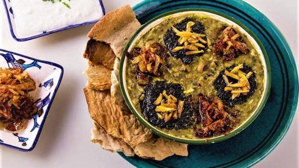 طرز تهیه آش قورابه ، مناسب برای افطار ( استفاده از گوشت در آش قورابه )