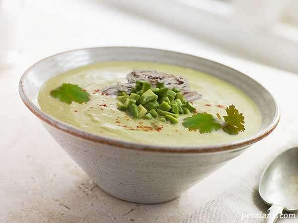 سوپ سرد مجلسی