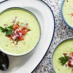 طرز تهیه سوپ سرد ( بدون نیاز به پختن و فوق العاده خوشمزه )