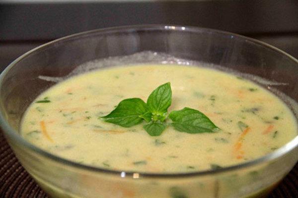 سوپ شیر خیلی خوشمزه برای افطار