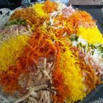 شیرین پلو پلوی مقوی برای افطار
