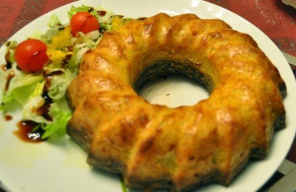 طرز پخت «کوکو تزئینی سه رنگ» برای سفره افطار