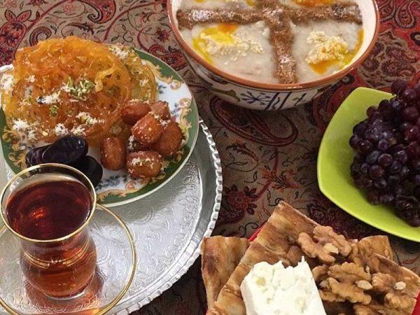 غذاهای مفید برای افطار و سحر