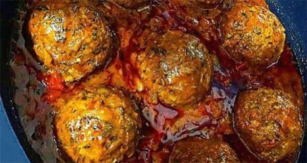 کوفته هلو سنتی مخصوص رمضان