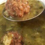 آشنایی با روش تهیه سوپ عدس با گوشت قلقلی