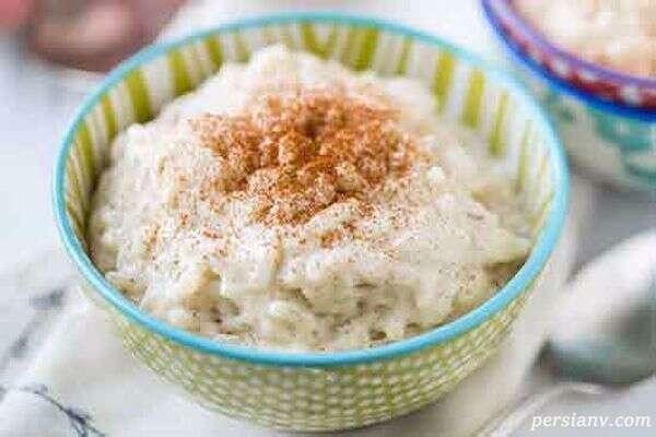 شیر برنج ترکی