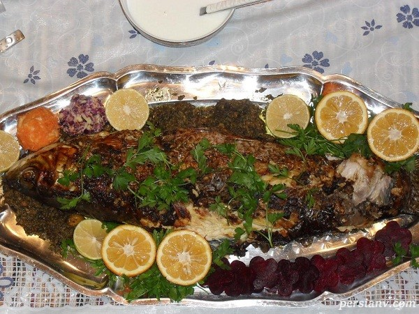 سبزی ماهی شکم پر شامل چیست