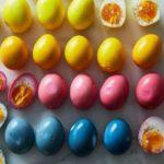 ترشی تخم مرغ ، ترشی بی نظیر و خوش طعم مناسب برای تزئین سالاد