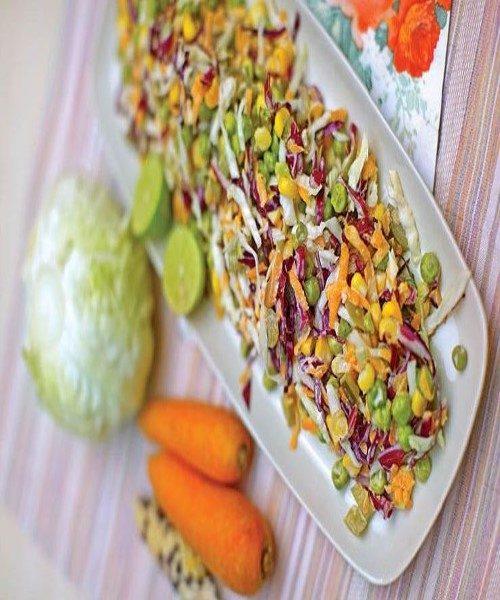 سالادهای خوشمزه پاییزی / از سالاد ذرت و برنج تا سالاد سالمون کبابی