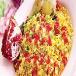 انار پلو ، غذای جدید و خوشمزه پاییزی