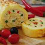 طرز تهیه رولت مرغ ( اسان و مناسب مهمانی )