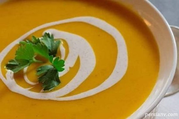 طرز تهیه سوپ کدو تنبل خامهای سوپ خوشمزه و قوی