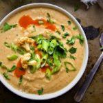 طرز پخت سوپ هویج و گل کلم تند غذایی لذیذ و مقوی برای گیاهخواران