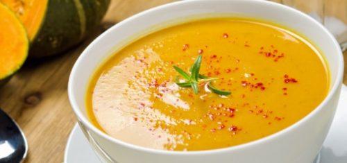 سوپ کدو حلوایی، مخصوص روزهای آخر زمستان