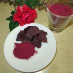 طرز تهیه آب لبو و پودر لبو برای تزئین غذا
