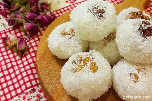 طرز تهیه شیرینی خانگی برای عید: باسلق گردویی