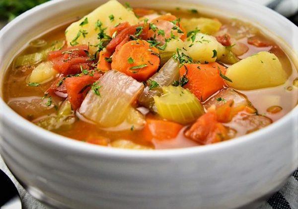 با این سوپ خوش طعم، چربی های تان را بسوزانید