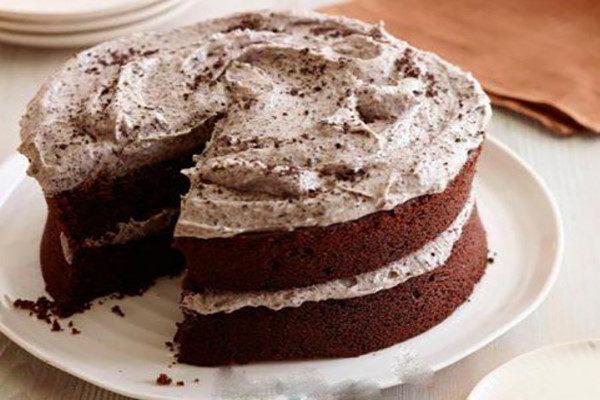 کیک بستنی با قهوه