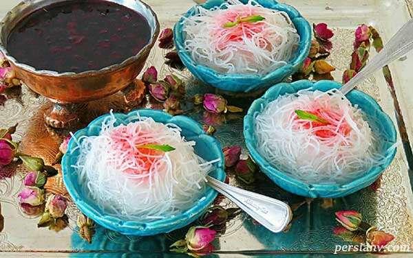 فالوده شیرازی