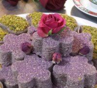 طرز تهیه حلوای گل سرخ برای افطار
