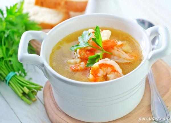 سوپ میگو، غذای سریع بوشهری ها