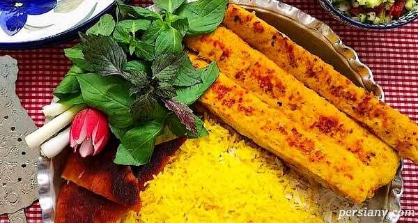کباب مرغ ، غذاهای خوشمزه تبریزی ها