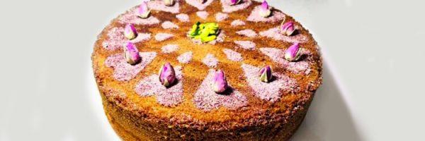 کیک گلاب، دسر افطاری