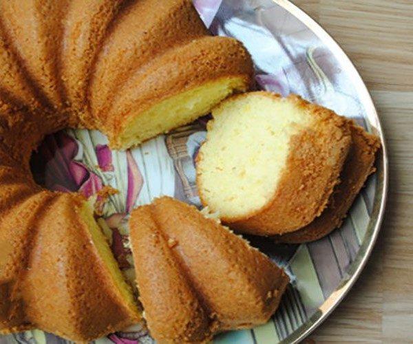 کیک گلاب افطاری