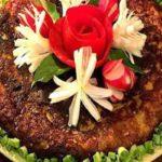 تنوع در آشپزی با کوکوی بادمجان و فلفل